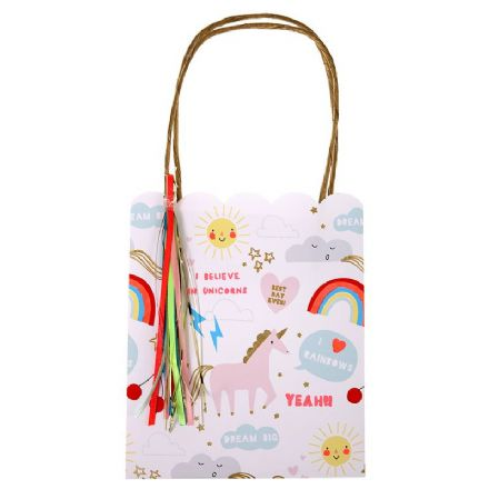 Unicorns and Rainbows Party Gift Bags